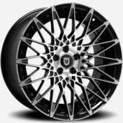 Lexani CSS-16 Machined Black Wheels
