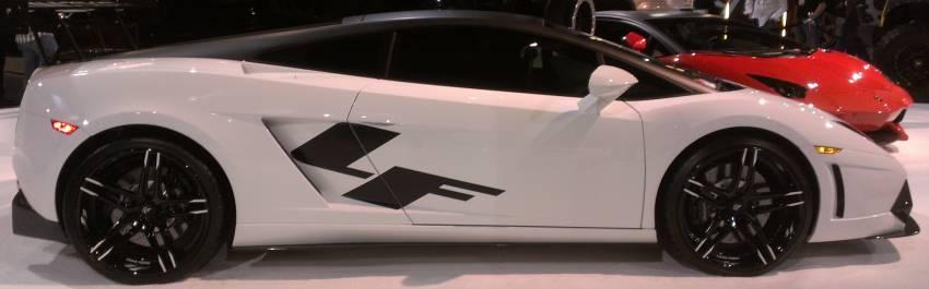 Lamborghini on Lexani Forged Wheels at SEMA 2013