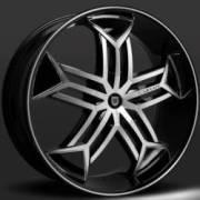 Lexani Tristo Machine Black with Black Inserts