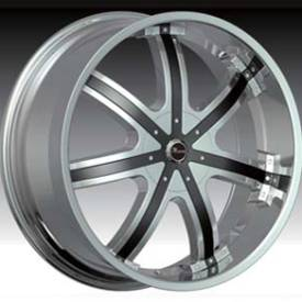 Massa MS50 Chrome Wheel with Black Insert419