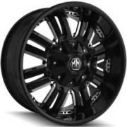 Mayhem Assault 8070 Black Wheels