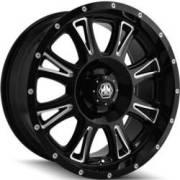 Mayhem Hammer 8050 Black Milled Wheels