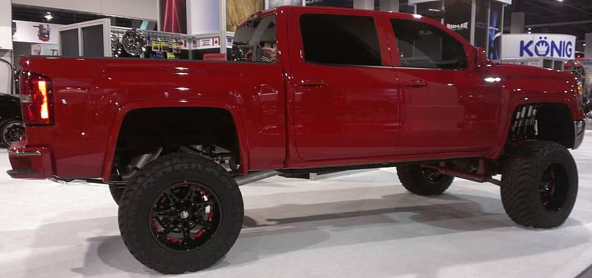 Mayhem Missle Black Wheels for Trucks