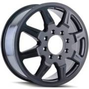 Mayhem Monstir 8101 Black Dually Wheels