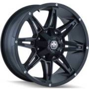 Mayhem Rampage 8090 Matte Black Wheels
