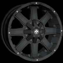 Mayhem Chaos 8030 Matte Black Wheels