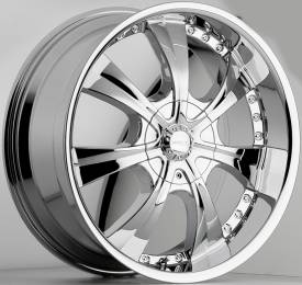 Menzari Double 07 Chrome