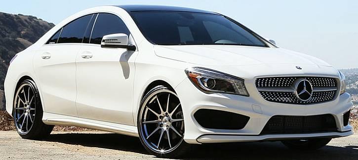Adventus AVS-4 Wheels on Mercedes Benz CLA