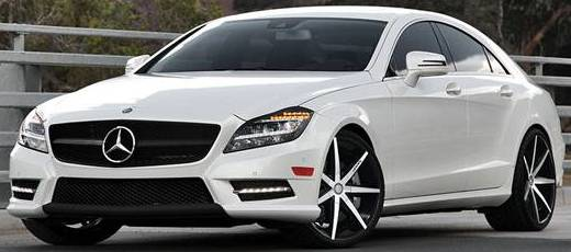 Mercedes CLS on Lexani R-Seven Wheels