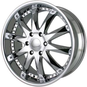Merceli M10 Chrome Wheels