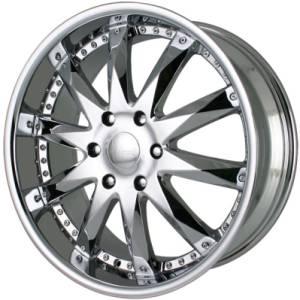 Merceli M10 Chrome Wheels