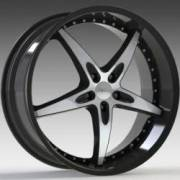 Milanni ZS-1 Gloss Black Mirror Machined