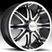 Milanni Kool Whip 8 Black Machined