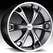 Milanni 452 Stellar Gloss Black Machined