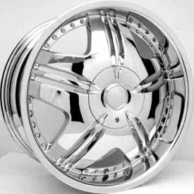 Miror MR6 Chrome Wheels