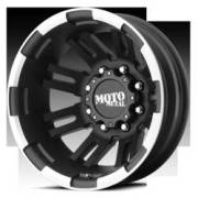 Moto Metal MO963 Rear Dually Matte Black Machined
