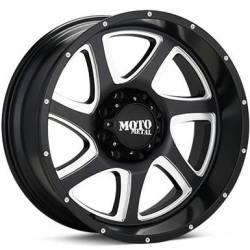 Moto Metal MO976 Black Milled