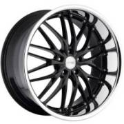MRR GT1 Black w/Chrome Lip