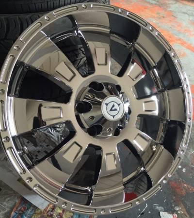 MST-610 Chrome Wheels