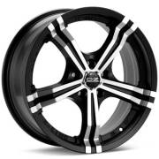 O.Z. Racing Power Machined Flat Black