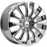 Pacer 776C Silhouette Chrome Wheels