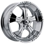Panther 280 Realm 6-Lug Chrome Wheels