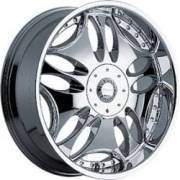 Panther 330C Groove Chrome Wheels