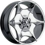 Panther 355C Shute Chrome Wheels