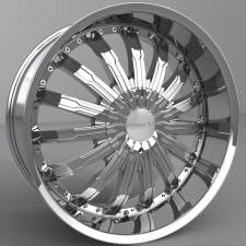Pinnacle P50 Swagg Chrome