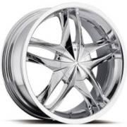 Platinum Twin Tiwst Chrome