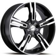 Platinum 292 Saber Gloss Black Machined