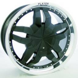 Player 504 black wheels