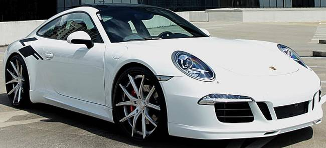 Lexani Forged LZ-102 on Porsche