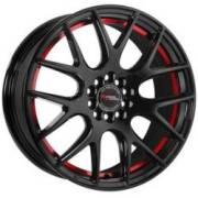 Racing Power TH227 Gloss Black with Red Stripe