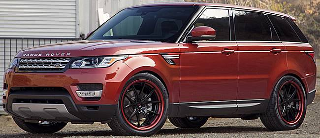 Adventus AVS-3 Wheels on Range Rover Sport