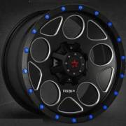 RBP 85R Voltage Black Machined with Blue Rivits