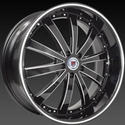 Red Sport RSW 77A Black Machined