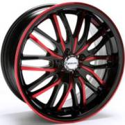 Redline RD-135 Black with Red Accent