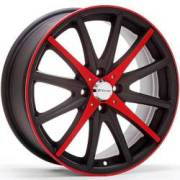 Redline RD-137 Matte Black Red