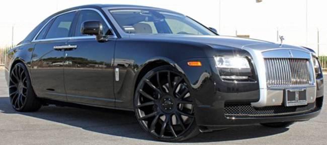 Giovanna Sienna Black for Rolls Royce