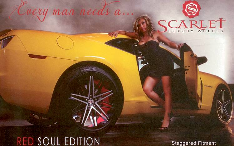 Scarlet Luxury Wheels Red Soul Edition