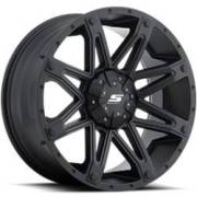 SenDel S35 Recon Matte Black Wheels