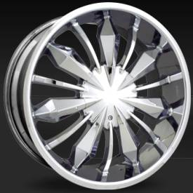 Shift Gear Chrome Wheels
