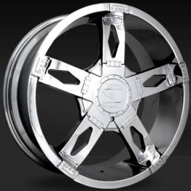 Shift Hinge Chrome Wheels