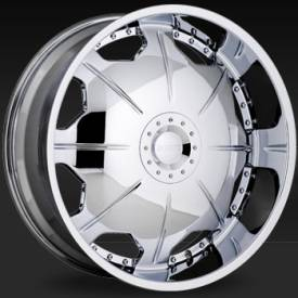 Shift Mirror Chrome Wheels