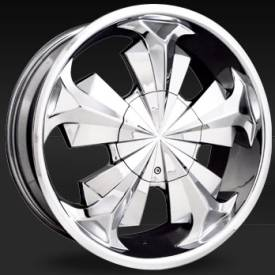 Shift Shock Chrome Wheels
