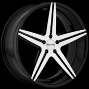 Sothis SC4 Black Machined Black Wheels