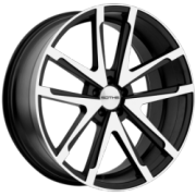 Sothis Sc1 Black Machined Wheels