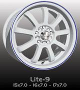 Speedy Lite-9 White