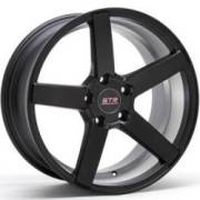 STR 607 Matte Black Wheels